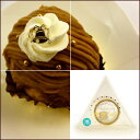 お菓子にケーキに純金箔で華やかにデザイン特別感をいっそう引き立てます金きらら ロール巻 ベル(食品トッピング用金箔)
