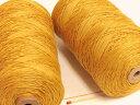さらっとした爽やかな手ざわりはリネン(亜麻)ならでは。手織りにも手編みにもオススメの麻糸です。