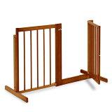 「システム ゲート BF 80」 間口や通路などの仕切りに 高さ80cm 木製 ペットゲート