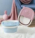 折り畳み足湯バケツ 家庭用スパペディキュア用の足、足湯、足浴槽用の子供用と大人用の足浴用バケツ