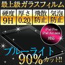 iPad air2 iPad mini4 保護フィルム ガラスフィルム 日本製旭硝子 9H 2.5D ブルーライト強化ガラスフィルム ipad mini ipa...