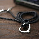 [Fare ファーレ] the mobile neck strap (black )NS-3) of a symbol, the open heart of the love