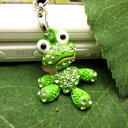    Swarovski frog strap