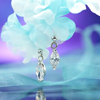 The finest shine cubic zirconia earrings and diamonds ☆