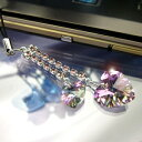 Swarovski double heart carrying strap / ヴィトレイルライト