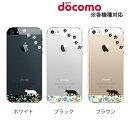 お花畑を歩くかわいい猫 クリア for スマホケース iPhone XS iPhoneXS Max iPhone8 iPhone7 Plus iPhone6s SE 5 Xperia XZ1 エクスペリアxz カバー z5 z4 z3 カバー ハードケース