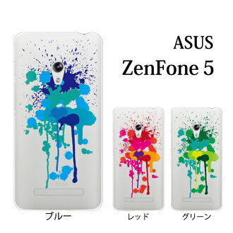 ZenFone 5(A500KL)飛散的油漆for ASUS ZenFone 5