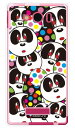 【スマホケース スマホカバー】Panda Face (ソフトTPUクリア) design by Moisture / for AQUOS PHONE Xx mini 303SH/SoftBank【ケース/カバー/CASE/ケ-ス】【スマートフォン ケース カバー】【日本製 SECOND SKIN】