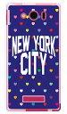 【スマホケース スマホカバー】NYC マルチハートドットネイビー (ソフトTPUクリア) design by Moisture / for AQUOS PHONE Xx mini 303SH/SoftBank【ケース/カバー/CASE/ケ-ス】【スマートフォン ケース カバー】【日本製 SECOND SKIN】