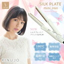 【新タイプ】KINUJO 絹女 SILK PLATE mini iron シルクプレートミニアイロン ヘアアイ