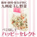 【熊本産】ベジほし子 ハッピーセレクト【人気の乾燥野菜3種のセット】