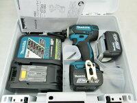 マキタ14.4V充電式インパクトドライバTD138DRFX/B/W/L/P【3.0Ah】セット品[TD134DX2型後継機種]