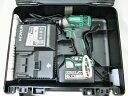 日立 18V コードレスインパクトドライバ WH18DDL2緑 【6.0Ah電池1個仕様】