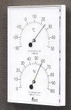 シンワ 70510 温湿度計 W?1 角型 ホワイト