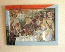 イタリア製額絵(ルノアール) イタリア 額 壁掛け 額 風景 花 ミュシャ クリムト 絵画 インテリア 雑貨 バラ 額 クラシック 額 インテリア 置物 小物入れ 絵画 額入り アートフレーム インテリア 壁掛け 額入り 油絵