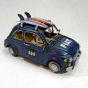 ブリキのおもちゃ:キャリアーカー27467おしゃれ バイク 輸入雑貨 憧れのあの日に戻れるアイテム・・・置物 雑貨 プレゼントにピッタリのブリキの飾り物 父の日 お誕生日 プレゼント
