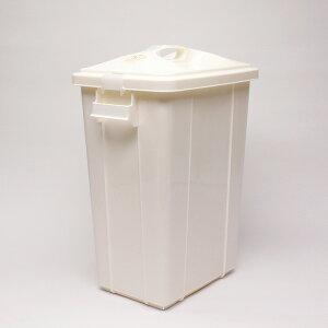 【動画あり】ペールゴミ箱 40L ホワイト スリム ごみばこ、ごみ箱、くず入れ