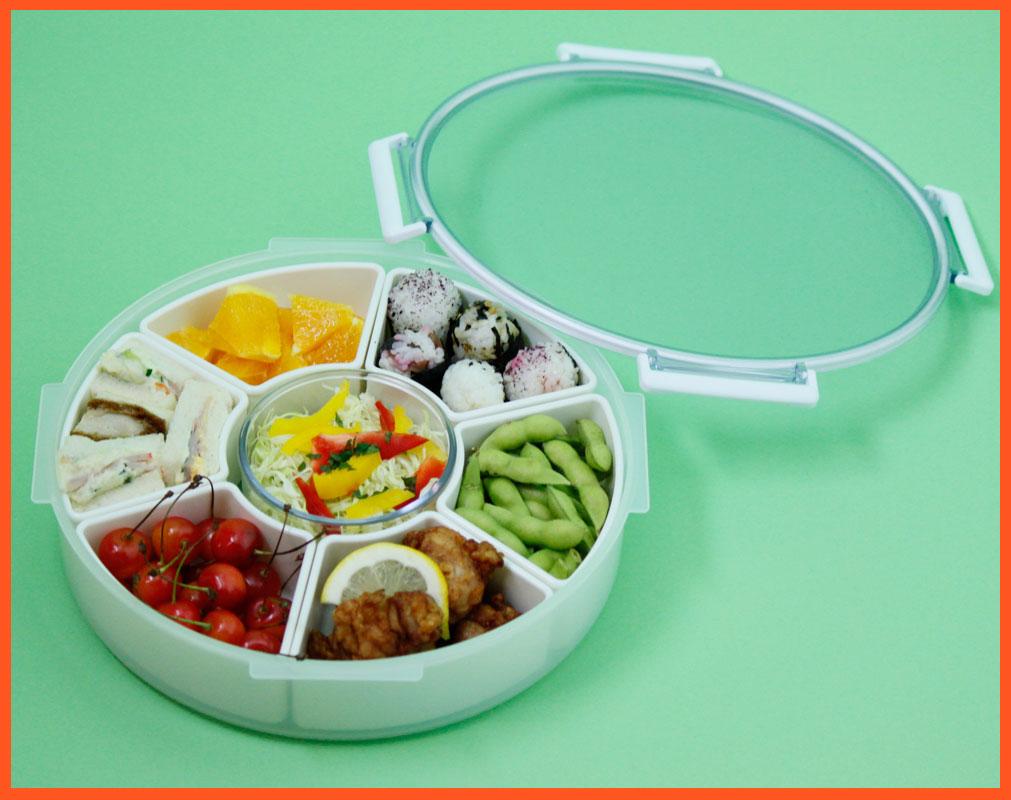 【期間限定送料無料】松花堂 杷島 密閉容器 お弁当箱 パーティー