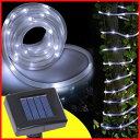 玄関 デコレーション ソーラー LED 5M イルミネーショ...