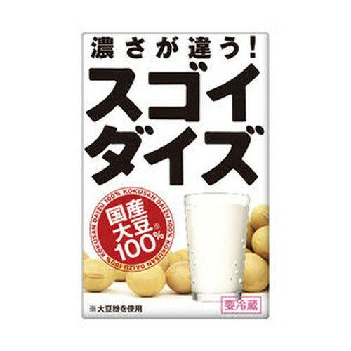 スゴイダイズ(国産)無調整 125ml 【大塚チルド食品】
