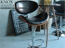 ■ポイント10倍 カウンターチェアBタイプ KNOX(ノックス)■ ブラック レッド ホワイト ダンディーチェア KNOX ノックス カウンターチェアー カウン...