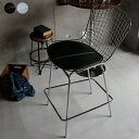 ハリー・ベルトイア ワイヤーバースツール カウンターチェアー カウンターチェア バーチェアー チェアー 椅子 イス ハイチェアー ブラック ハリー・ベルトイア アイアン リビングルーム ミッドセンチュリー