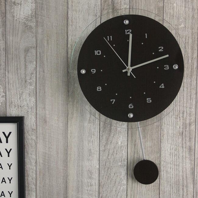 R.C.S Antilles アンティール 電波時計 W-473[掛け時計 木製 シンプル おしゃれ]