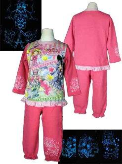 [有限的時間] 魔術師全蝕病 ★ 發光,閃閃發光改造睡衣 / 睡衣 ★ 回刷睡衣輝光巫婆漂亮的睡衣/教練睡衣和晚安/家居用品 / 長袖睡衣和粉紅 / 紫色-萬代-