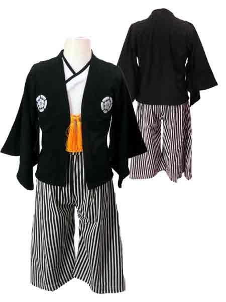 PokkePoche(ポッケポッシュ)男の子用袴(はかま)男の子袴3点セット(桃の節句/端午の節句/
