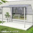 三協アルミ シャルレ 1階用 アルミ色枠 3間(2連結)×3尺 関東間 標準柱 熱線遮断ポリカ 1500タイプ