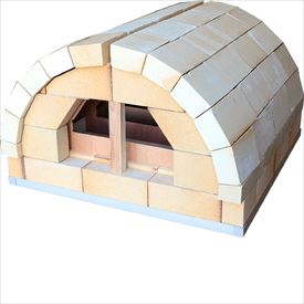 スペースファクトリー RTV-0808 耐火レンガで作る家庭の石窯 『ピザ窯DIY』『現地組立品』