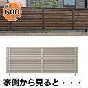 三協アルミ 形材フェンス シャトレナM3型 2006 本体 【目隠しルーバー アルミフェンス 柵】