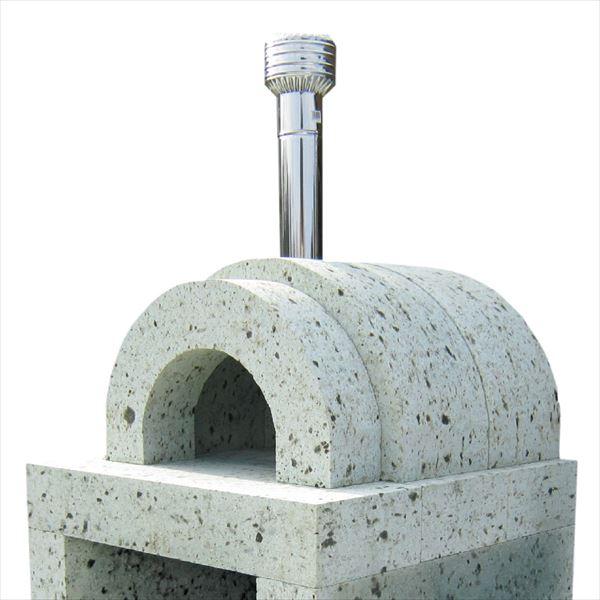 ニッコー 大谷石ピザ窯 直火式・丸型 ダイヤ引き仕上 OPK-1BP 『パレットで配送 荷下ろしの手伝いが必要』 『屋外用ピザ釜 ピザ窯 ニッコーエクステリア』