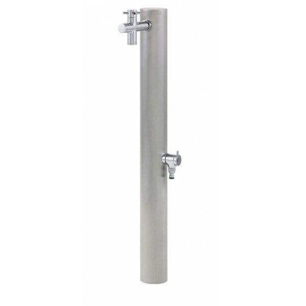 オンリーワン 水栓柱 ウォーターポスト2口  HO3-325G 【水栓柱・立水栓セット(蛇口付き)】 ステンレス 送料無料【オンリーワン】ステンレスの高級感、耐久性を生かしたガーデンシャワー水栓柱です。