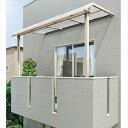 キロスタイル-IS モダンルーフMR75 基本セット 標準柱仕様 奥行移動桁 単体 1階用 幅2000mm×10尺(2975mm) ポリカ屋根