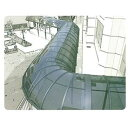 三菱樹脂 ポリカ板 ステラ 縦100〜910×横2001〜3000 厚み2(単位はmm) 【カーポート・テラスの屋根の修理、雨漏りなどのメンテナンスやリフォームをDIYで】