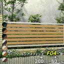 【店長おすすめ!】 YKK ルシアスフェンスF04型 本体 T80 【アルミフェンス 柵】