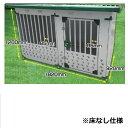 メタルテック ドックハウス 犬小屋 DFD-1 床無 0.5坪 床無モデル 【ガルバリウム鋼板で頑丈です】【屋外用 犬小屋】