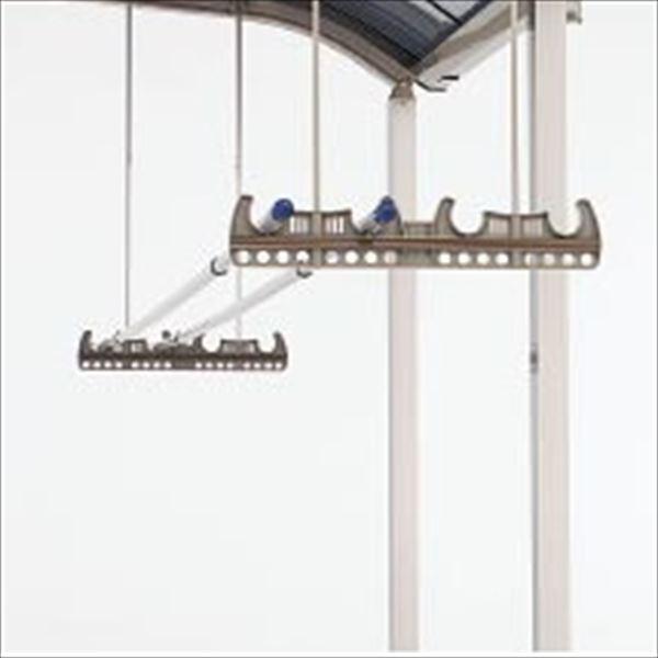 四国化成アレグリアテラスオプション竿掛けセット(2ヶ1組)吊下げ式04-TOP-SC物干し屋外ステン