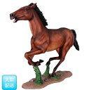FRP 躍動する馬 / Galloping Horse 『動物園オブジェ アニマルオブジェ 店舗・イベント向け』