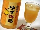 四国のゆずと和歌山産南高梅100%使用の梅酒のコラボレーション中野BC ゆず梅酒1800ml