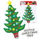 バルーンフォトプロップス フェスティブクリスマスツリー(税別\580×1個)