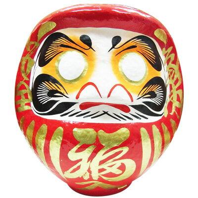 赤張子 だるま 8号 ( 1個 ) 《 だるま お祝い 合格祈願 目入れ 成人式 受験 昔のおもちゃ 正月 縁日 景品 お祭り 問屋 》