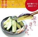 大阪・泉州特産水なす漬物お試しセット 水ナス お漬物 水茄子