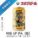 エチゴビール RISE UP IPA(缶) 350ml×1本(バラ) 【ライズアップIPA】【地ビール】【クラフトビール】【Craft Beer】【Local Beer】【Microbrewery】【季節商品】【限定ビール】