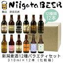 新潟麦酒 12種バラエティセット 310ml×12本(化粧箱...