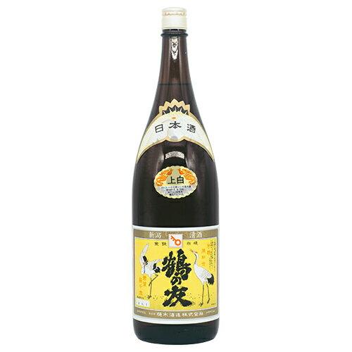 鶴の友上白1800ml樋木酒造普通酒日本酒清酒新潟地酒