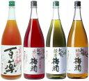 【おすすめセット】【福袋】【梅酒】【紀州】百薬梅酒・3色梅酒 4本セット