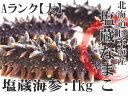 塩蔵ナマコAランク大サイズ1kg 各10g以上 北海道産塩蔵...