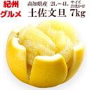 土佐文旦 7kg 2L〜4L(サイズおまかせ)